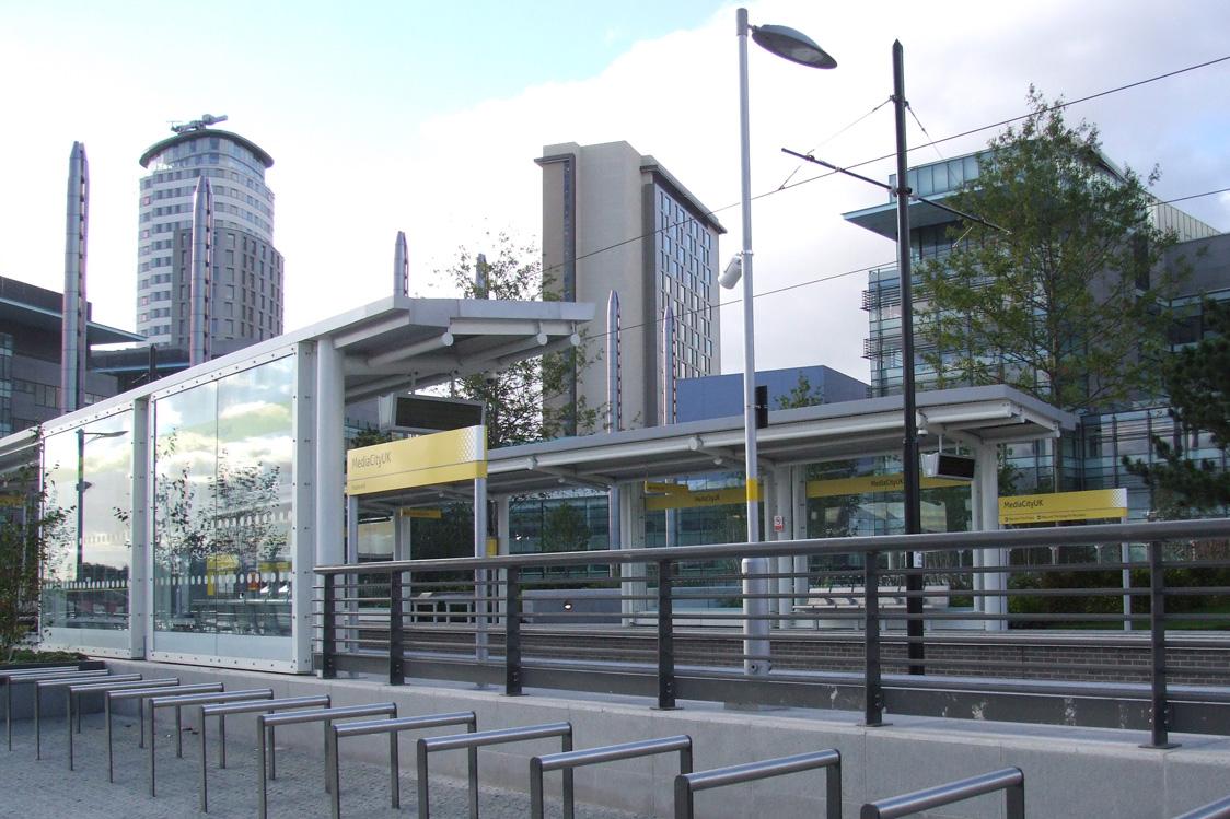 MediaCityUK Metrolink station